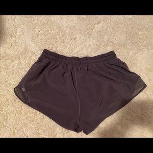 lululemon athletica Shorts - Lululemon hotty hot running Shorts